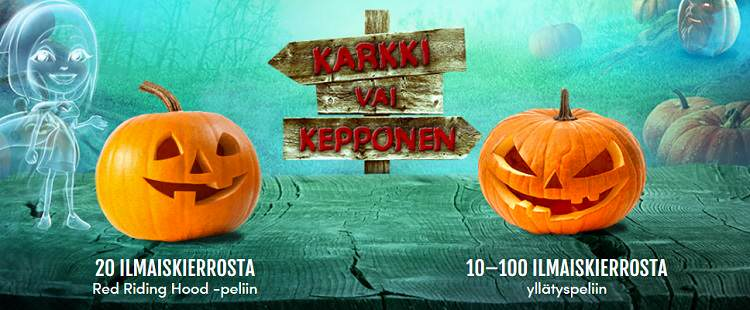 halloween casinohuone