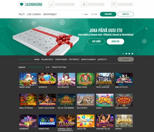 Casinohuone screenshot