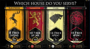 Game of Thrones - Which house do you serve?