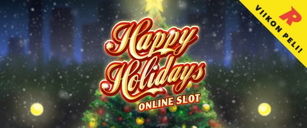 Happy Holidays kasinopeli - Viikon peli - Rizk Casino
