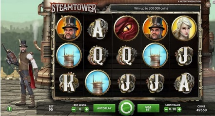 Steam Tower - Mobil6000